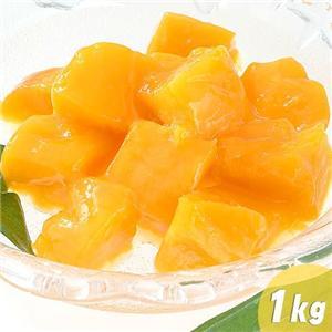 冷凍 完熟カラバオマンゴー 1kg - 拡大画像
