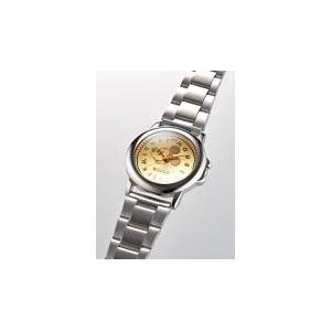 プレミアムミッキーマウス腕時計 ゴールド - 拡大画像