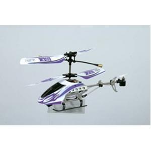 マイクロミニヘリコプター DS-X 【屋内可 赤外線通信】パープル - 拡大画像