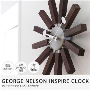 GEORGE NELSON INSPIRE CLOCK ジョージ・ネルソン インスパイアクロック ウォールナット