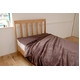 ふっくらマシュマロタッチ マイクロファイバー毛布&敷きパッドセット シングル ブラウン 写真2