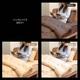 テイジン共同開発!マイティトップ(R)II使用 清潔・快適寝具シングル4点セット ブラウン【ベッド用】 写真5