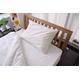 【ベッドタイプ】新疆綿(しんきょうめん)カバーセット ダブル ホワイト 写真2