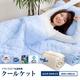 2010年版☆アウトラスト(R) 快適・快眠 クールケット セミダブルサイズ ブルー 写真1