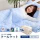 2010年版☆アウトラスト(R) 快適・快眠 クールケット ダブルサイズ ブルー 写真1