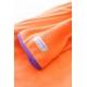 着るブランケット NuKME(ヌックミィ) 袖付き毛布 オレンジ 写真2