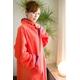 着るブランケット NuKME(ヌックミィ) 袖付き毛布 オレンジ 写真3
