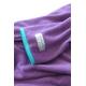 着るブランケット NuKME(ヌックミィ) 袖付き毛布 パープル 写真2