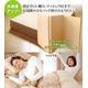 マットレス付きふかふか増量羽根布団寝具<br>7点セット シングルサイズ ディープブルー×ライトブルー 写真5