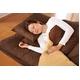 マットレス付きふかふか増量羽根布団寝具<br>7点セット シングルサイズ ブラウン×ベージュ 写真3