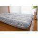 東洋紡フィルファーモニィ綿使用 ボリューム3層式 敷布団 シングルサイズ ブルー系柄おまかせ 写真4