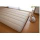東洋紡フィルファーモニィ綿使用 ボリューム3層式 敷布団 シングルサイズ ブラウン(無地) 写真3