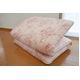 東洋紡フィルファーモニィ綿使用 ボリューム3層式 敷布団 セミダブルサイズ ピンク系柄おまかせ 写真2