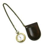 アンティークブラス風懐中時計