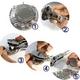 時計用工具 時計裏蓋オープナー3点支持タイプ+木製固定器 写真4