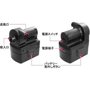 コードレス電動エアポンプ ミニエアコンプレッサー