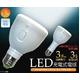 地震・台風などの災害での停電時でも使用可 懐中電灯にもなるLED充電式電球 E26対応 3.8W(30W電球相当) 写真1
