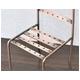 アンティークブロンズ風ピアスディスプレイスタンド椅子型 店舗内陳列用 - 縮小画像3