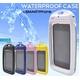 【ブラック】スマートフォン用防水ケース - 縮小画像1