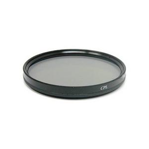 カメラレンズ用 サーキュラー偏光(CPL)フィルター AF対応 径(58mm)  - 拡大画像