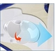 太陽光発電 ソーラーファンキャップ ホワイト・オレンジ・ブルー3個セット - 縮小画像2