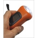 【5個セット】手回し&ソーラー充電LEDハンドライト(懐中電灯) - 縮小画像2