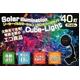 ソーラーイルミネーションライトコード カラフル40灯LEDキューブライト(4.5m) - 縮小画像1