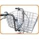 大きなカゴ!ペットキャリーバッグつき 20インチ自転車 シルバー - 縮小画像4