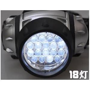 18灯LEDヘッドライト【4個セット】の紹介画像3