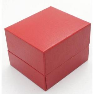 ピアス・ネックレス指輪ギフトBOXプチ 赤 20個セット - 拡大画像
