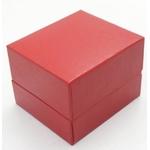 ピアス・ネックレス指輪ギフトBOXプチ 赤 20個セット