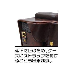 【カメラケース】Canon(キヤノン)EOS 5DMARKIII レンズキット対応 レザーブラウン h03