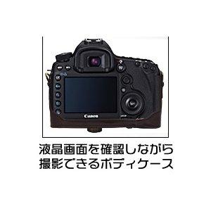 【カメラケース】Canon(キヤノン)EOS 5DMARKIII レンズキット対応 レザーブラウン f06