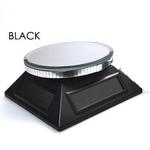 ソーラーミラーターンテーブル ブラック 【3個セット】