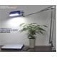 横長アームデスクライト ブルー/シルバー 白色LEDライト - 縮小画像1