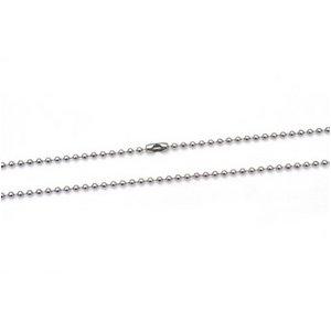 【10本組】ステンレス製ネックレス ボールチェーン幅2.4mm/全長70cm h01