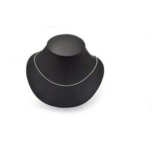 【10本組】ステンレス製ネックレス ボールチェーン幅2.4mm/全長70cm h02