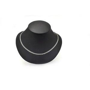 【10本組】ステンレス製ネックレス キヘイチェーン幅4mm/全長50cm h02