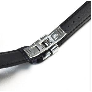 【3個セット】腕時計用パーツ バタフライバックル 【メンズ16mm】