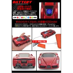 スポーツカーデザイン ミニカーモバイルバッテリ...の紹介画像3