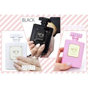 香水型モバイルバッテリー ピンク 可愛いスマホの予備充電池! f04