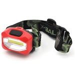 レジャーや防災用に LEDヘッドライト(レッド) 【5個セット】