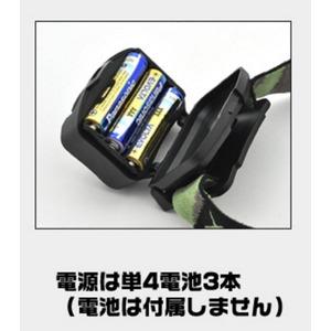 レジャーや防災用に LEDヘッドライト(ブルー) 【5個セット】