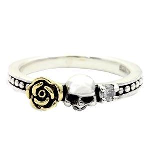 Royal Joker ロイヤルジョーカー ローズスカル(rose skull)リング 17号 h02