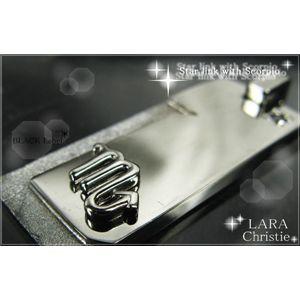 LARA Christie(ララクリスティー) Star link with Scorpio(さそり座10/24〜11/21) 星座ネックレス【BLACK Label】