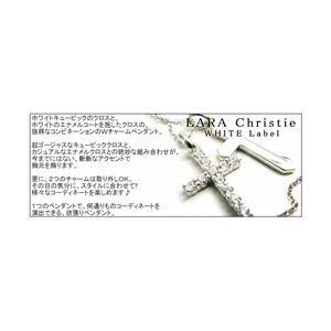 LARA Christie(ララクリスティー) ラブツインズ ネックレス[WHITE Label]