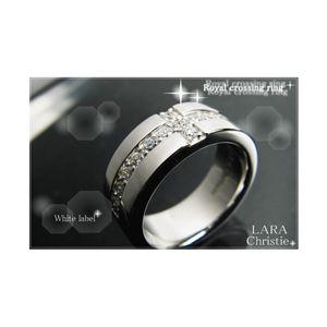 LARA Christie(ララクリスティー) ロイヤル クロス リング 13号 [WHITE Label]