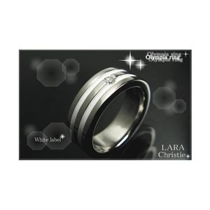 LARA Christie(ララクリスティー)オリンピア リング 7号 [WHITE Label]