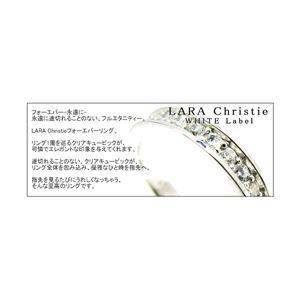 ☆Ane Can専属モデル☆真山景子さん着用ブランド♪LARA Christie(ララクリスティー) フォーエバー リング 7号[WHITE Label]