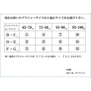 ノンストレスブラプラス ブラック 11 f06